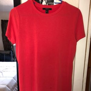Forever 21 Red Tshirt